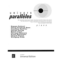 Carl Fischer Univers Paralleles Book - Piano