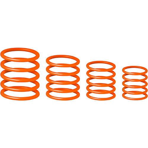 Gravity Stands Universal Gravity Ring Pack - Electric Orange