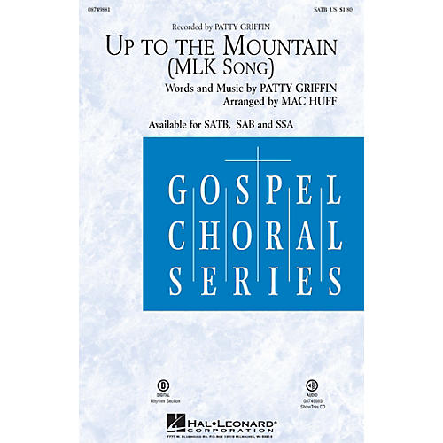 Hal Leonard Up to the Mountain (MLK Song) SAB by Kelly Clarkson Arranged by Mac Huff