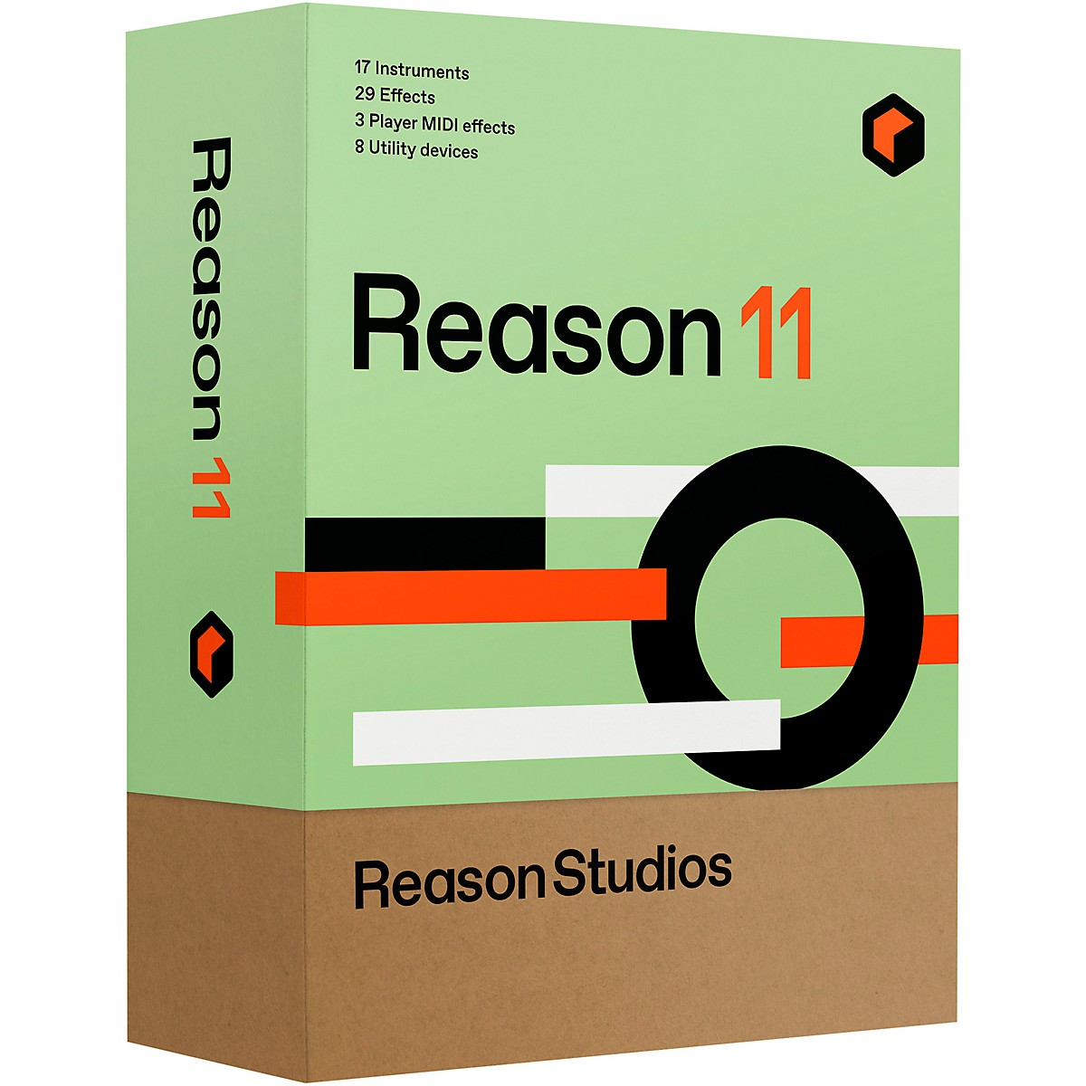 Reason Studios Upgrade to Reason 11 EDU 5-User Network Multi-License (Boxed)