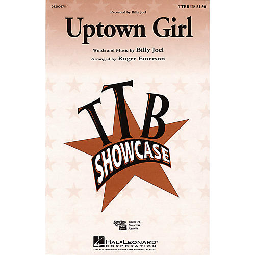 Hal Leonard Uptown Girl ShowTrax CD by Billy Joel Arranged by Roger Emerson