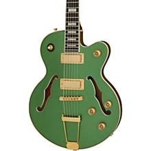 Uptown Kat ES Semi-Hollow Electric Guitar Emerald Green Metallic