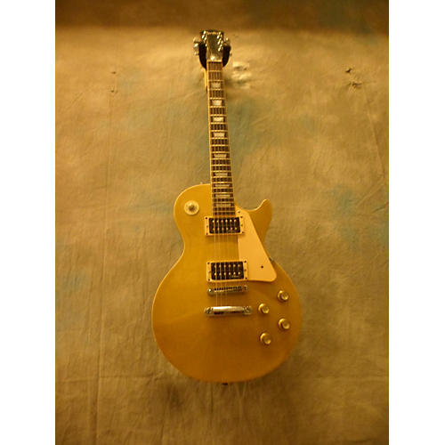 In Store Used Used 1970s Cortley CE222 Gold Top Solid Body Electric Guitar