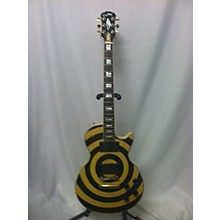 Used 2006 EPHIPHONE LES PAUL ZACH WYLDE BUMBLEBEE Solid Body Electric Guitar