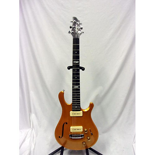 In Store Used Used 2009 Flaxwood Liekki 290H Gold Top Hollow Body Electric Guitar
