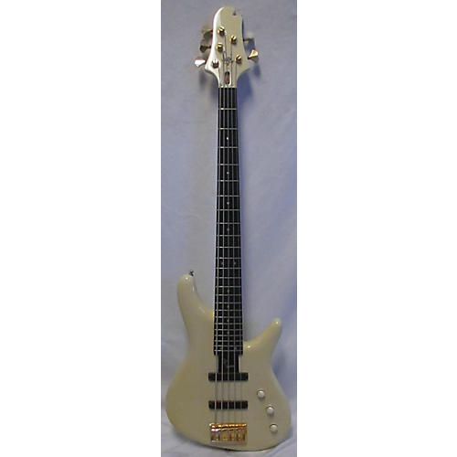 In Store Used Used 2010 Sugi NB5E SL-ASH White Electric Bass Guitar