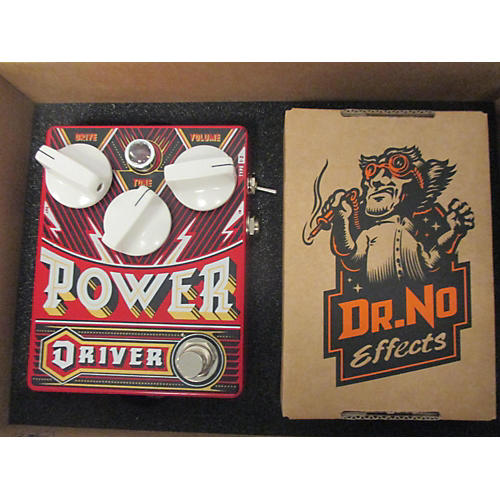 In Store Used Used 2010s Dr No Power Driver + Booster Effect Pedal