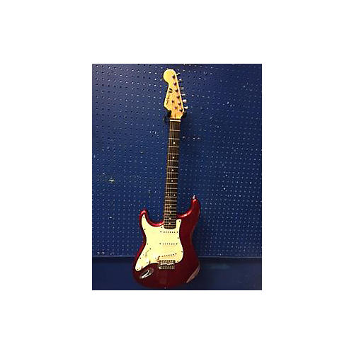 In Store Used Used 2010s Woody James Solid Body Guitar Candy Apple Red Electric Guitar