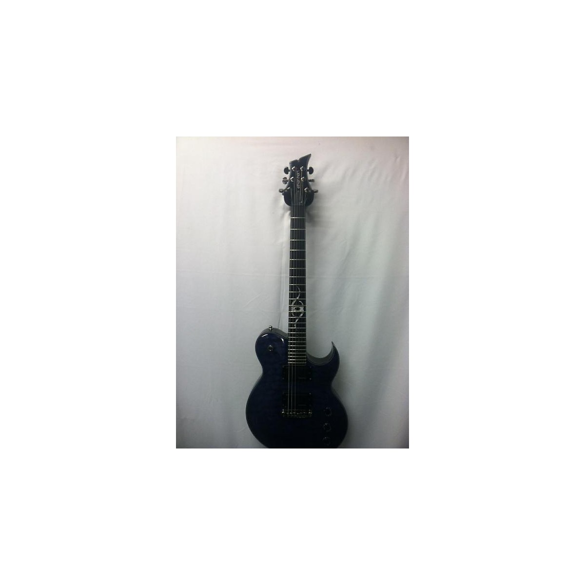 In Store Used Used 2012 Ethan Hart Graphtech Blue Solid Body Electric Guitar