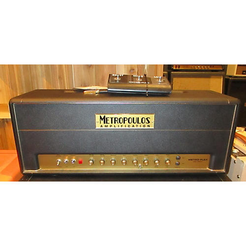 In Store Used Used 2014 METROPOULOS METRO PLEX 100W HEAD Tube Guitar Amp Head