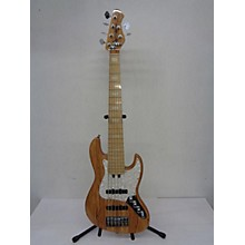 Used 2015 BASSMODS K634 Natural Electric Bass Guitar