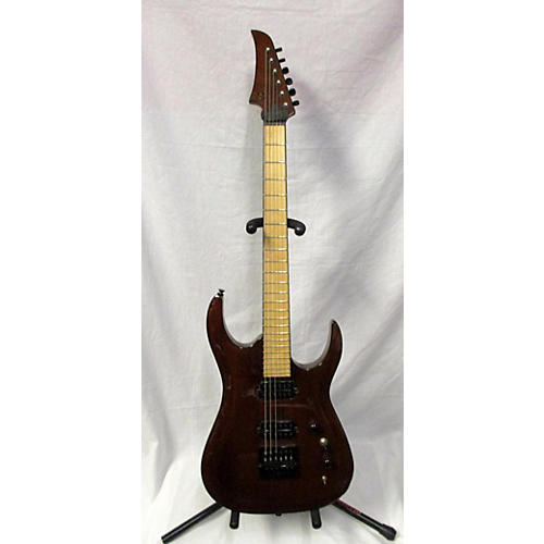 In Store Used Used 2015 HALO CUSTOM MERUS Walnut Solid Body Electric Guitar