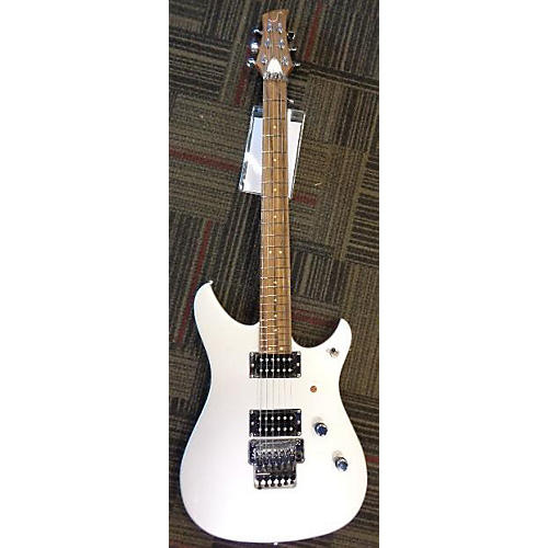 In Store Used Used 2015 SOULTOOL SUPREME Pearl White Solid Body Electric Guitar