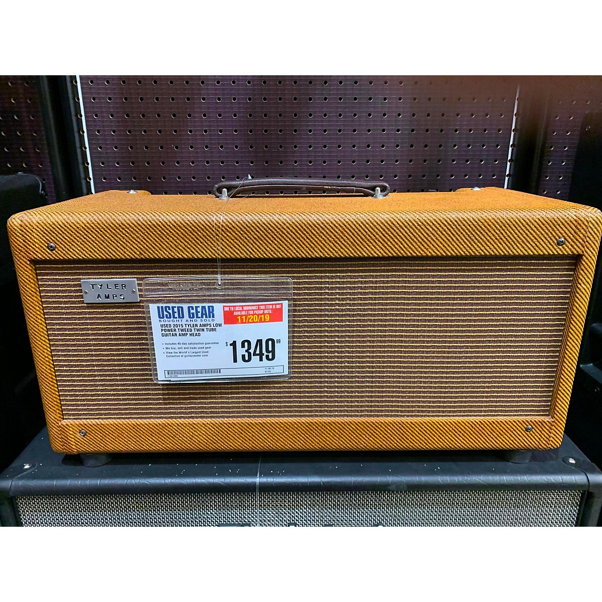 In Store Used Used 2015 Tyler Amps Low Power Tweed Twin Tube Guitar Amp Head