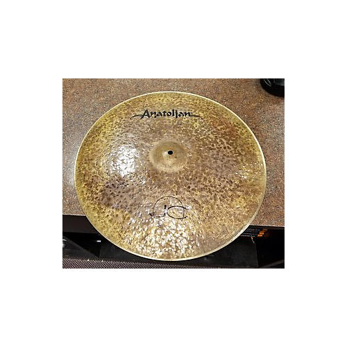 In Store Used Used 2016 ANATOLIAN 20in CHOCOLATE MOVE RIDE Cymbal