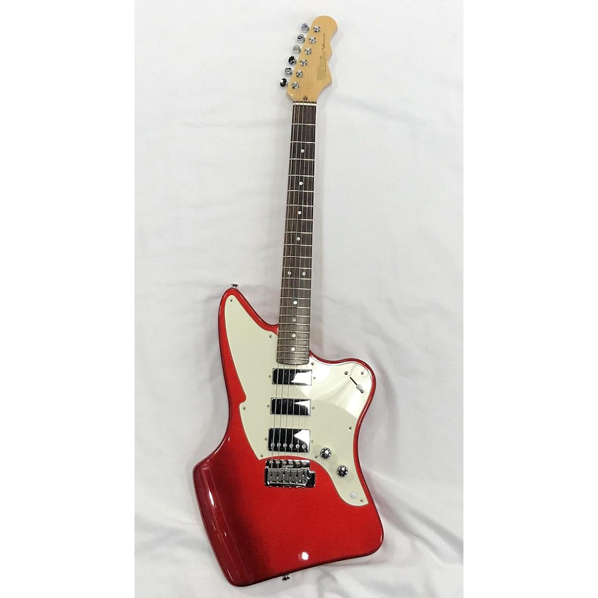 In Store Used Used 2016 Fret King Ventura Candy Apple Red Metallic Solid Body Electric Guitar