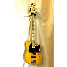 Used 2016 Moniker Dixie TV Yellow Electric Bass Guitar