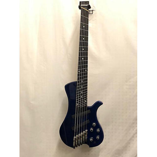 used 2019 krashburn custom single cut blue electric bass guitar blue guitar center. Black Bedroom Furniture Sets. Home Design Ideas