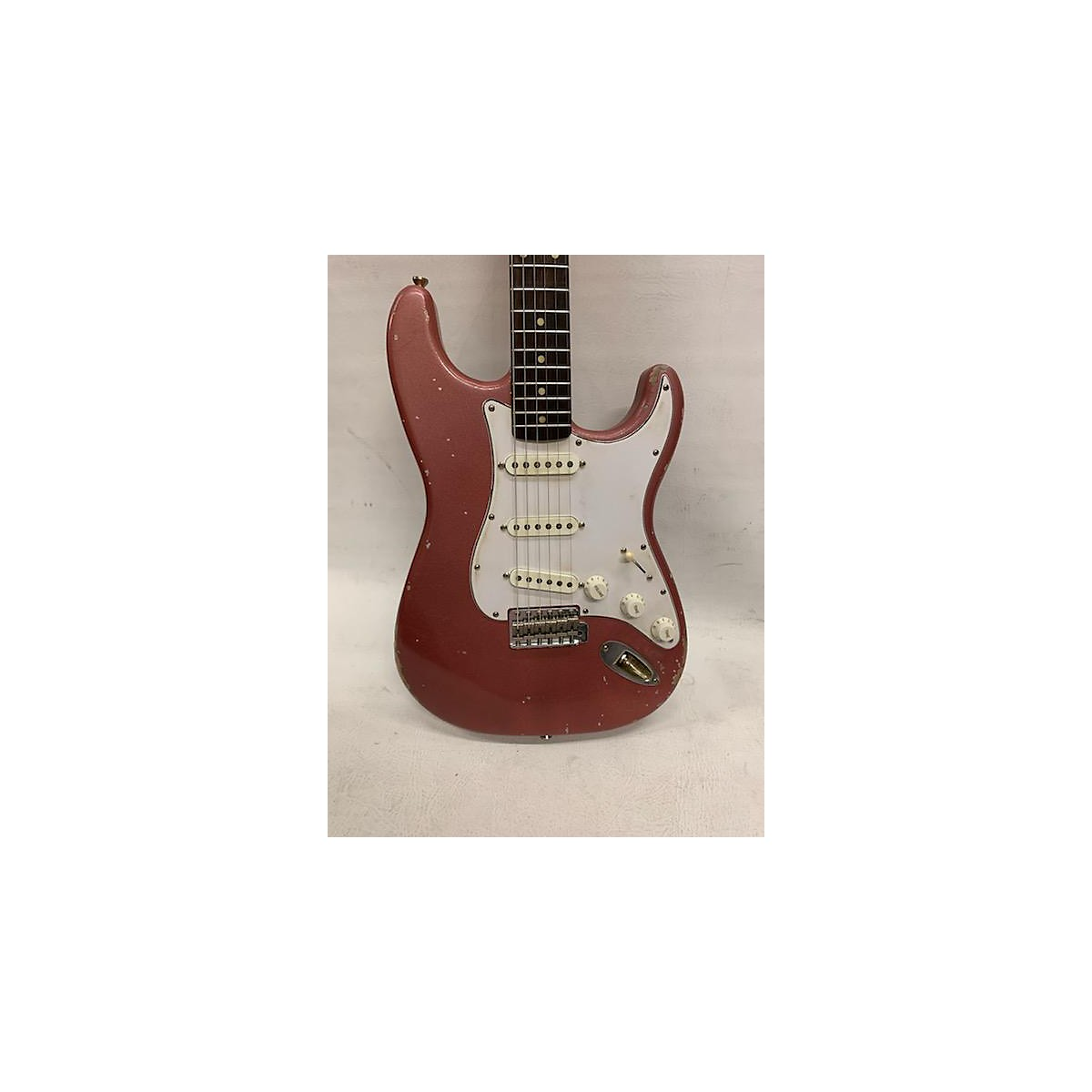 In Store Used Used 2019 Rittenhouse Guitars S-Model Burgundy Mist Solid Body Electric Guitar