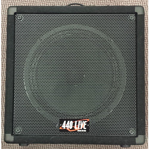 In Store Used Used 440 Live 1x12 With Vintage 30 Guitar Cabinet
