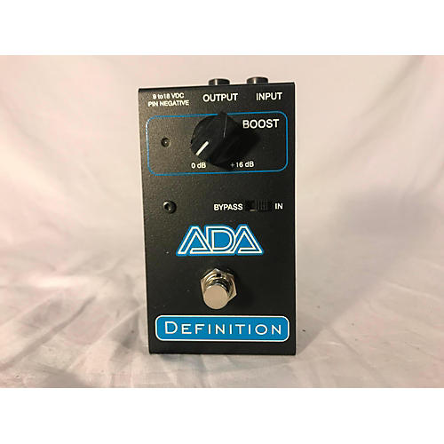 In Store Used Used ADA Definition Effect Pedal