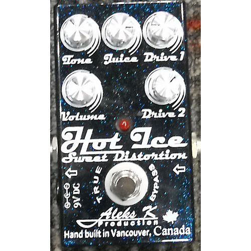 In Store Used Used ALEKS K HOT ICE SWEET DISTORTION Effect Pedal