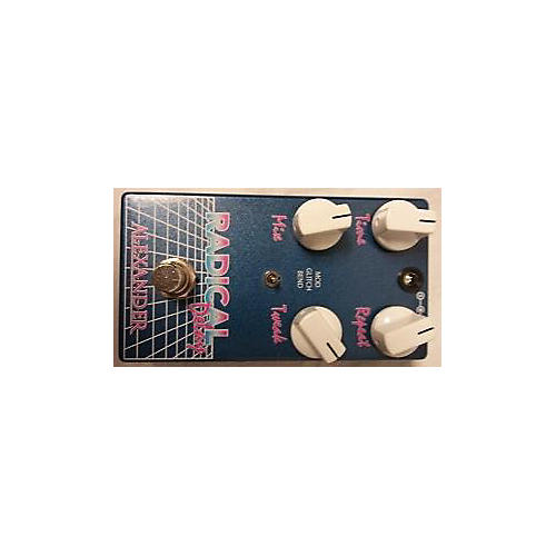 In Store Used Used ALEXANDER RADICAL DELAY Effect Pedal