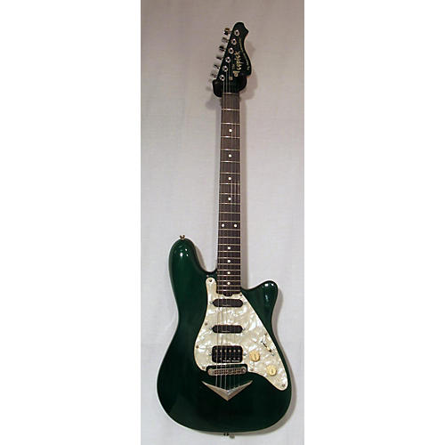 In Store Used Used AMERICAN SHOWSTER THE ICEPICK Emerald Green Solid Body Electric Guitar