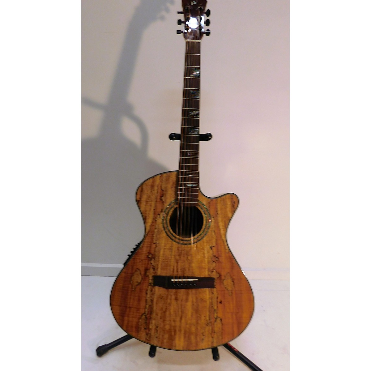 In Store Used Used ANDREW WHITE EOS 2S2 SPALTED MAPLE Spalted Maple Acoustic Electric Guitar