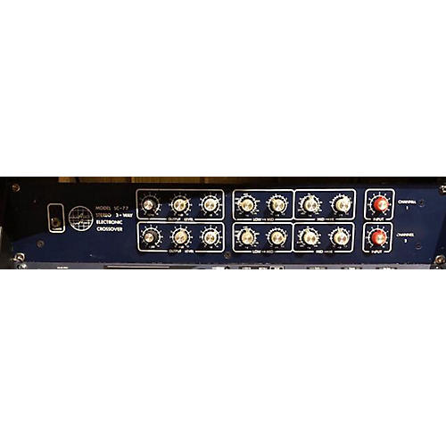 In Store Used Used ASHLEY AUDIO SC 77 Crossover