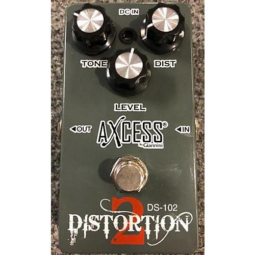 In Store Used Used AXCESS DISTORTION 2 Effect Pedal