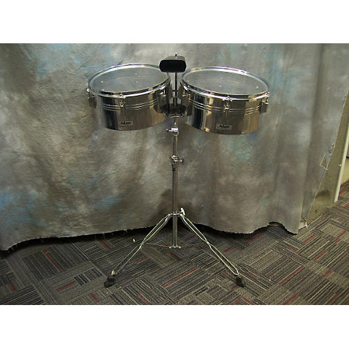 In Store Used Used Adam Percussion Timbales Black Timbales