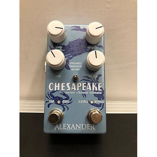 In Store Used Used Alexander Chesapeake Effect Pedal