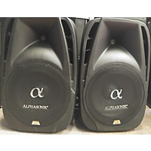 Used Alphasonik Portable Speaker System Sound Package