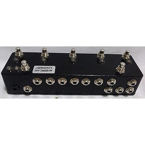 In Store Used Used American Loopers 5 Channel Programmable Bypass Looper Pedal Pedal