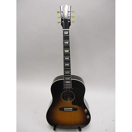 In Store Used Used Ami Jm-sg160e Sunburst Acoustic Electric Guitar