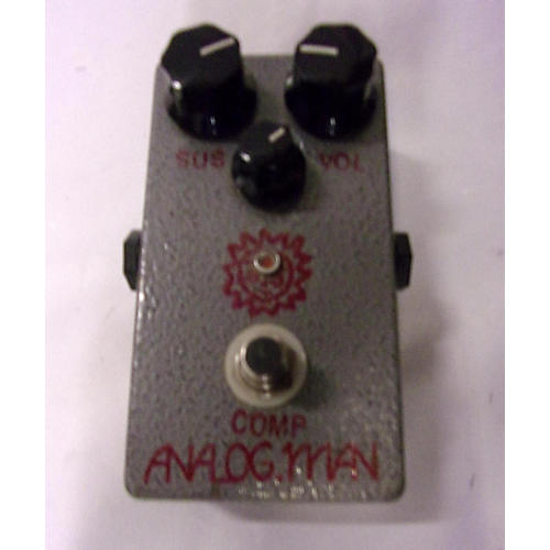 In Store Used Used Anolog Man Comp Effect Pedal