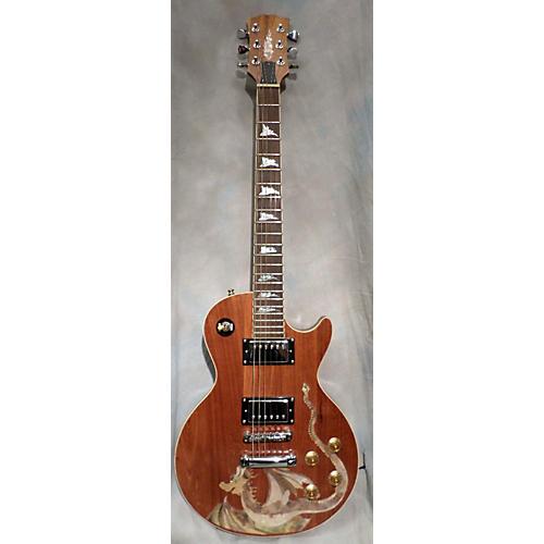 In Store Used Used Antoniotsai Single Cut Oak Solid Body Electric Guitar