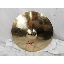 Used Aqua 18in Brilliant Medium Thin Crash Cymbal