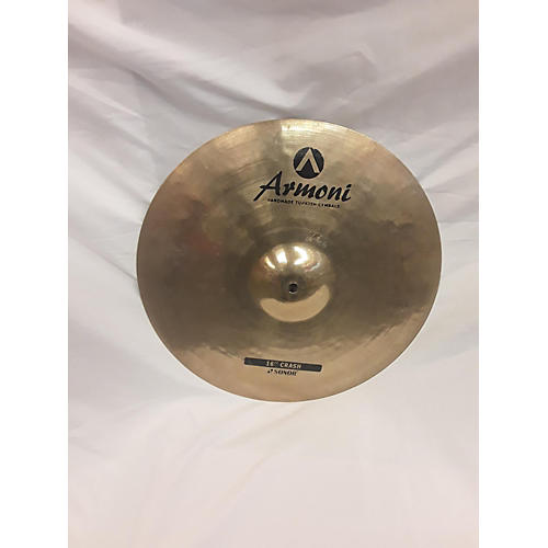 In Store Used Used Armoni By Sonor 16in Crash Cymbal