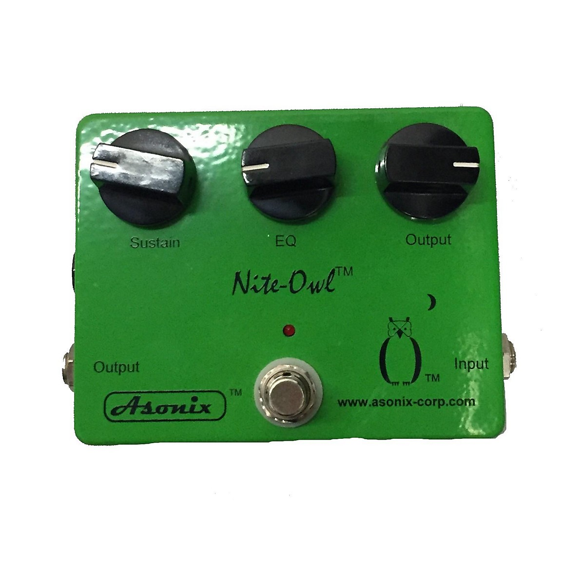 In Store Used Used Asonix Nite Owl Effect Pedal