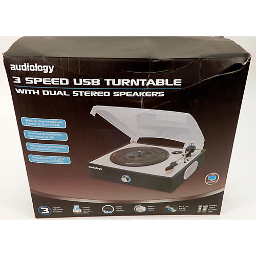 In Store Used Used Audiology 3 Speed USB Turntable USB Turntable