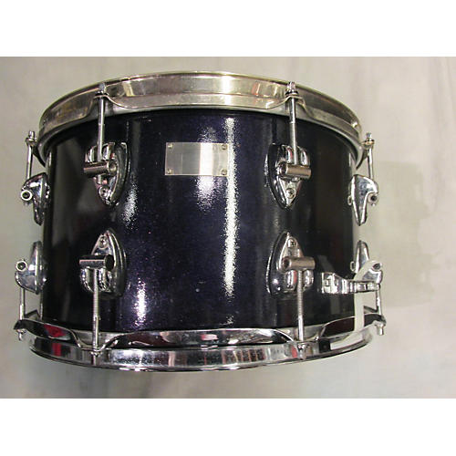 In Store Used Used Ayotte 1990s 8X14 Maple Steel Hoop Purple Drum