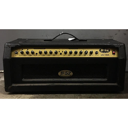 In Store Used Used B52 STEALTH SERIES LG100A Solid State Guitar Amp Head
