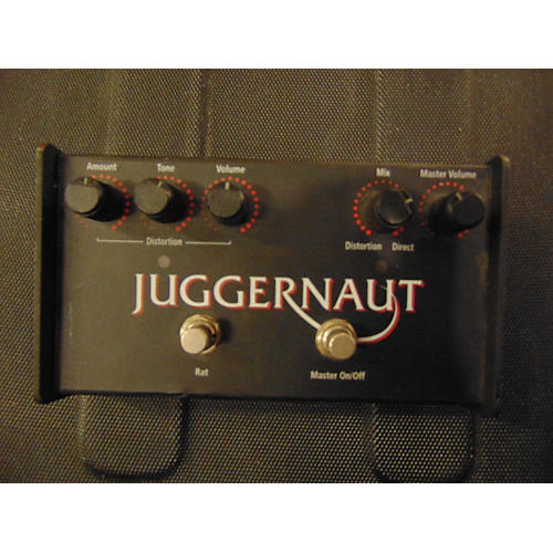 In Store Used Used BASS RAT PRO CO 2015 JUGGERNAUT Bass Effect Pedal
