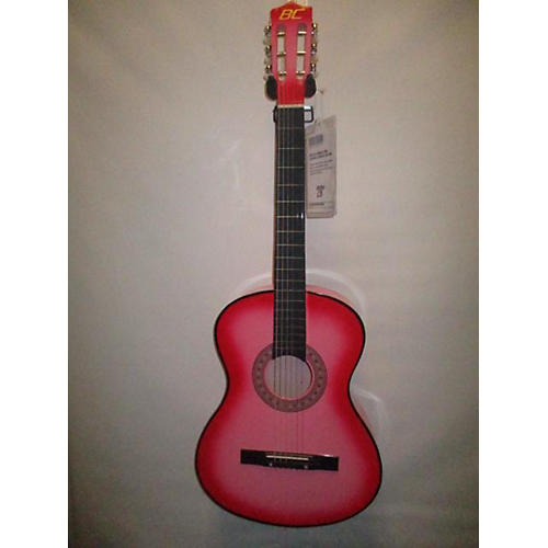 In Store Used Used BC Laminate Pink Classical Acoustic Guitar