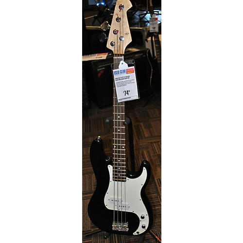In Store Used Used BC P Style Black Electric Bass Guitar