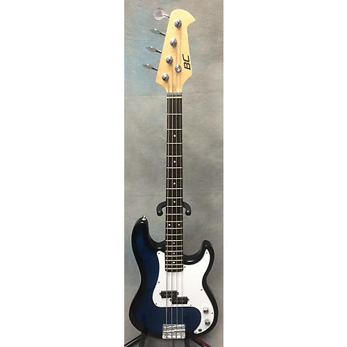 In Store Used Used BC Solid Body Bass Blue Sunburst Electric Bass Guitar