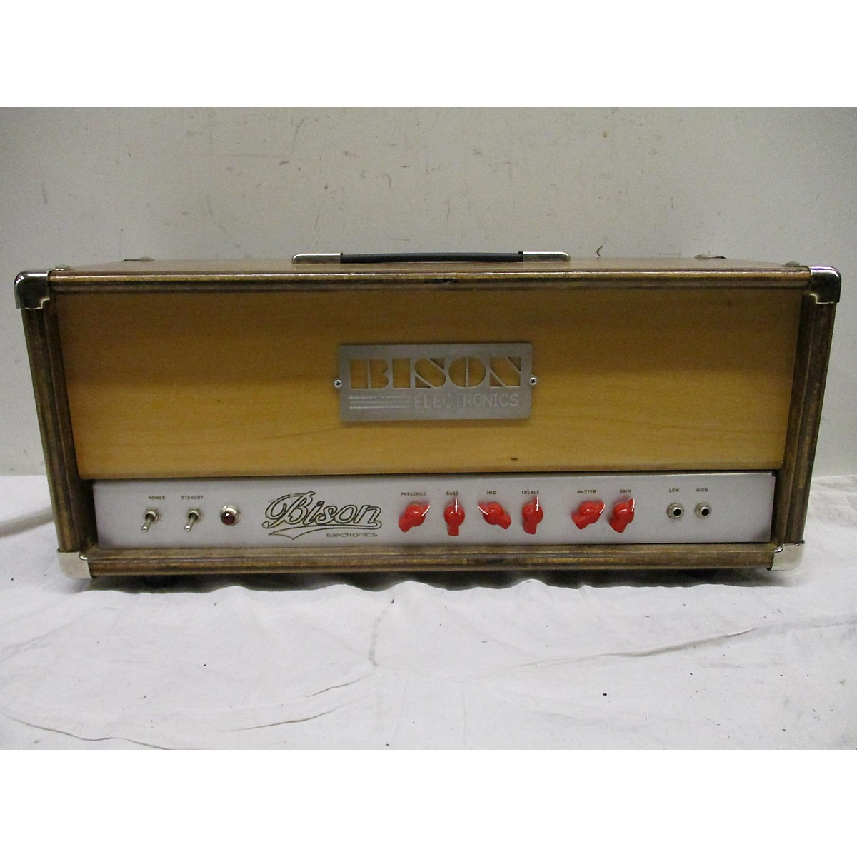 In Store Used Used BISON ELECTRONICS BA200 Tube Bass Amp Head