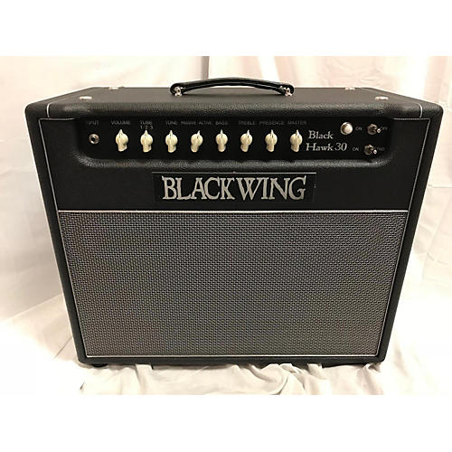 In Store Used Used BLACK WING BLACK HAWK 30-112 Tube Guitar Combo Amp
